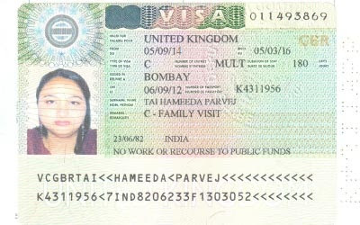 What are the requirements for a UK family visitor visa?