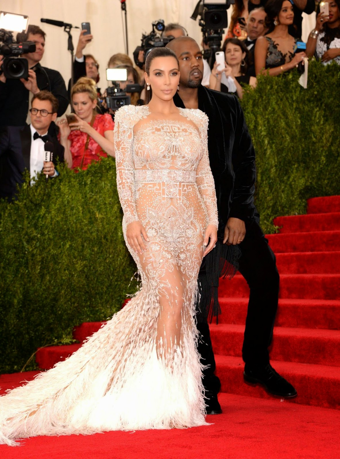 Singer, Television Personality, Socialite, Model @ Kim Kardashian At Met Gala 2015 In New York