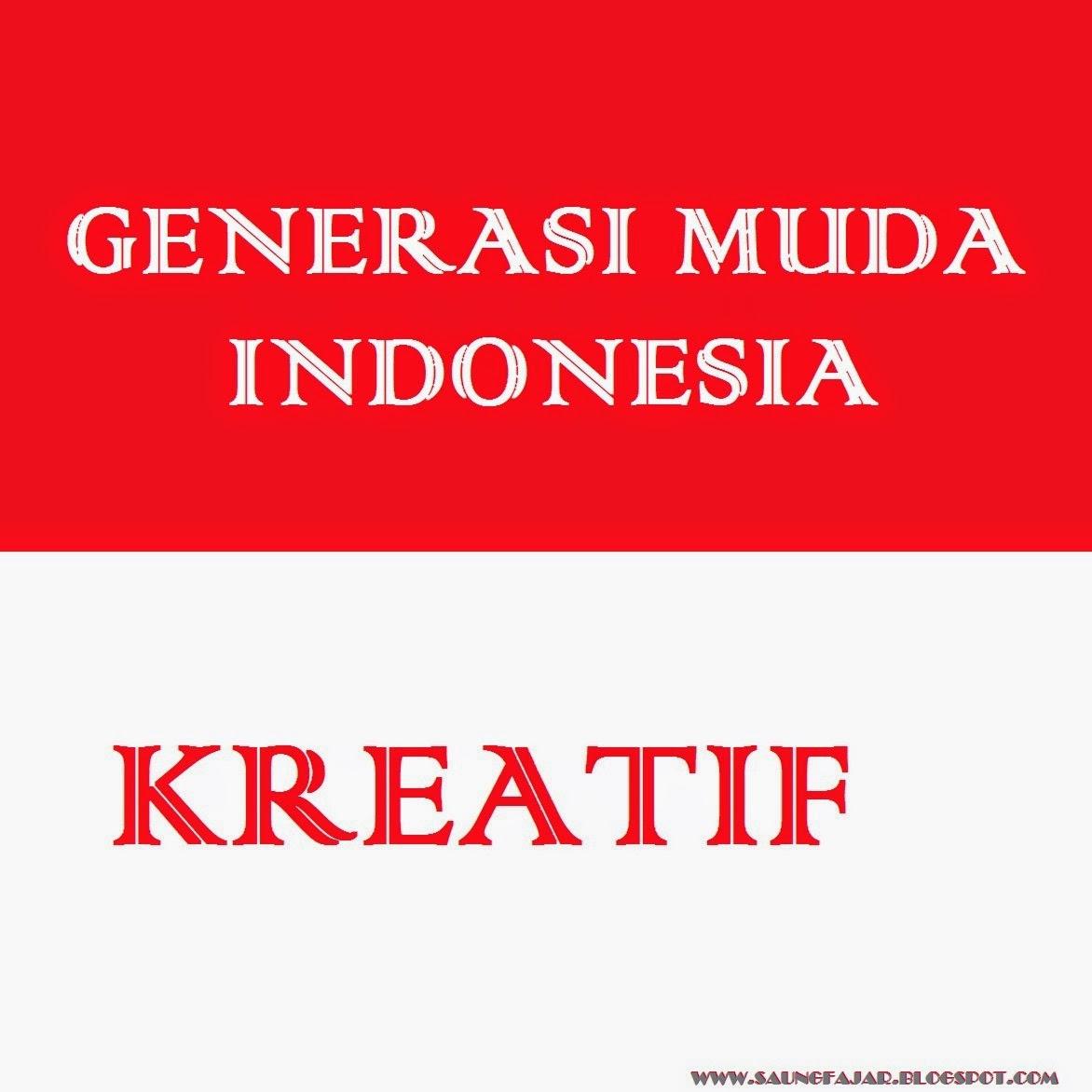 Generasi Muda Indonesia Kreatif