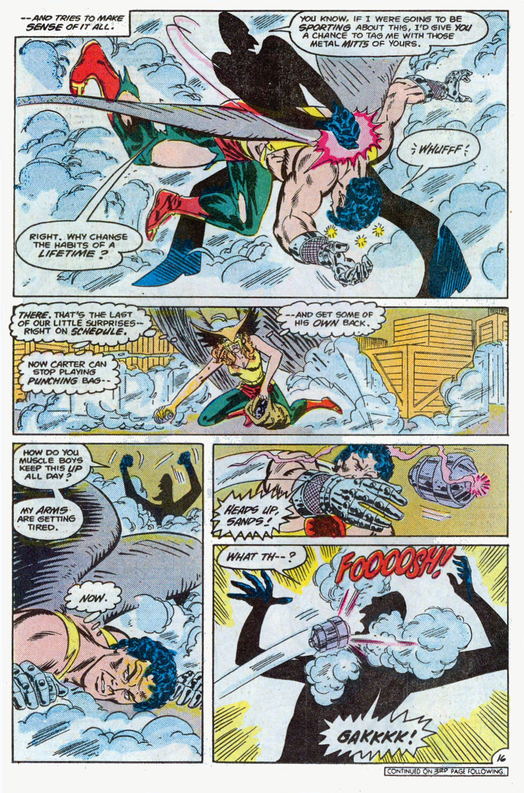 Hawkman (1986) Issue #3 #3 - English 19