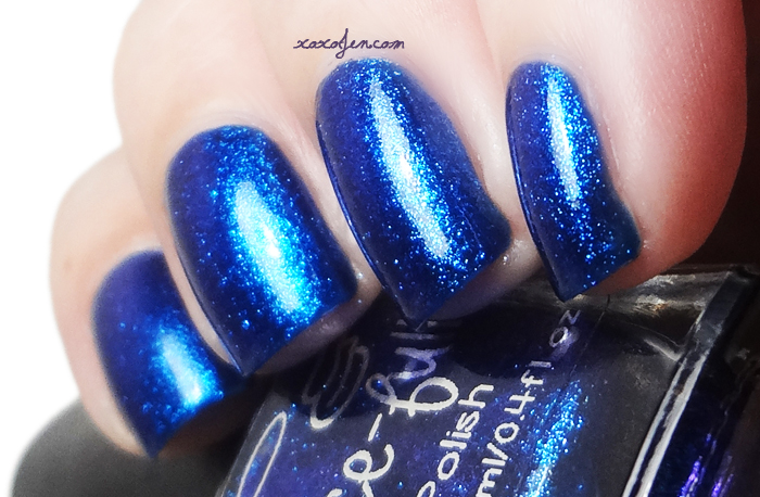 xoxoJen's swatch of Blue S-teal
