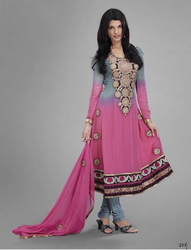 Model Latest Pakistani Party Dresses 2017 | Designer Dresses For Women - StyleGlow.com