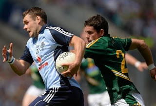 Dublin's Kevin McManamon in possession during the Meath match.