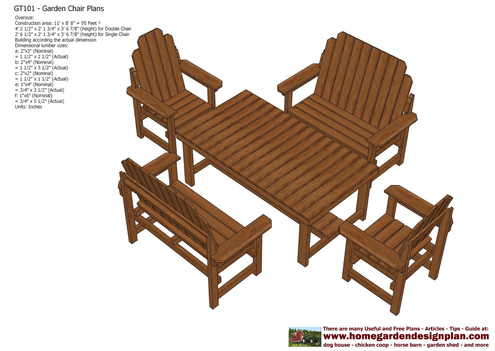 Home garden plans gt teak table out