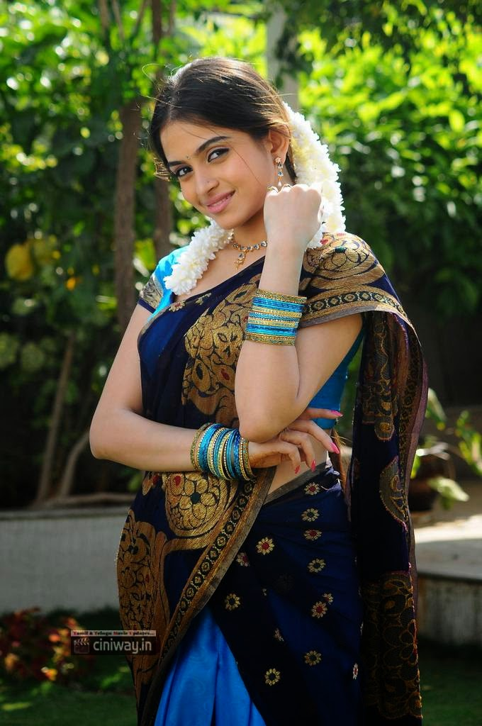 Sheena-Shahabadi-Cute-Stills-in-half-saree