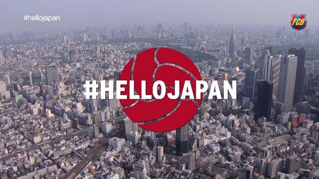 """""""Hello Japan"""": el Barcelona activa el Mundialito de Clubes"""