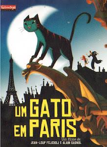 Um Gato em Paris Legendado 2012