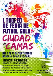 Camas - Feria 2014 - I Trofeo de Fútbol Sala