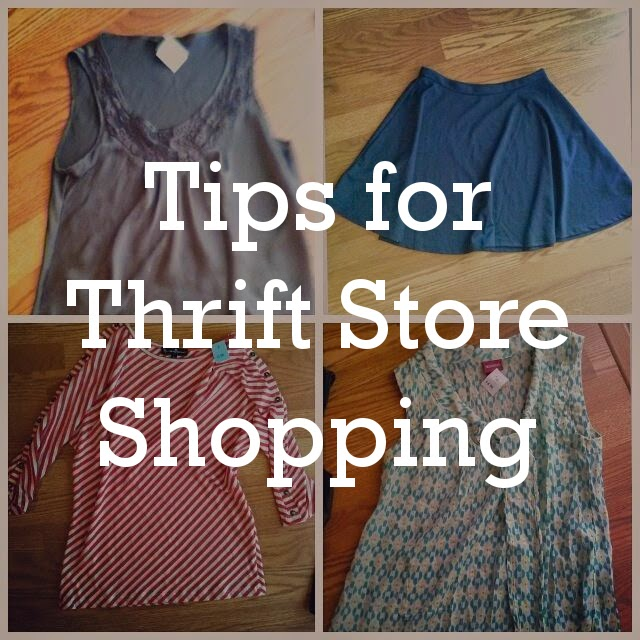 Tips for Thrift Store Shopping