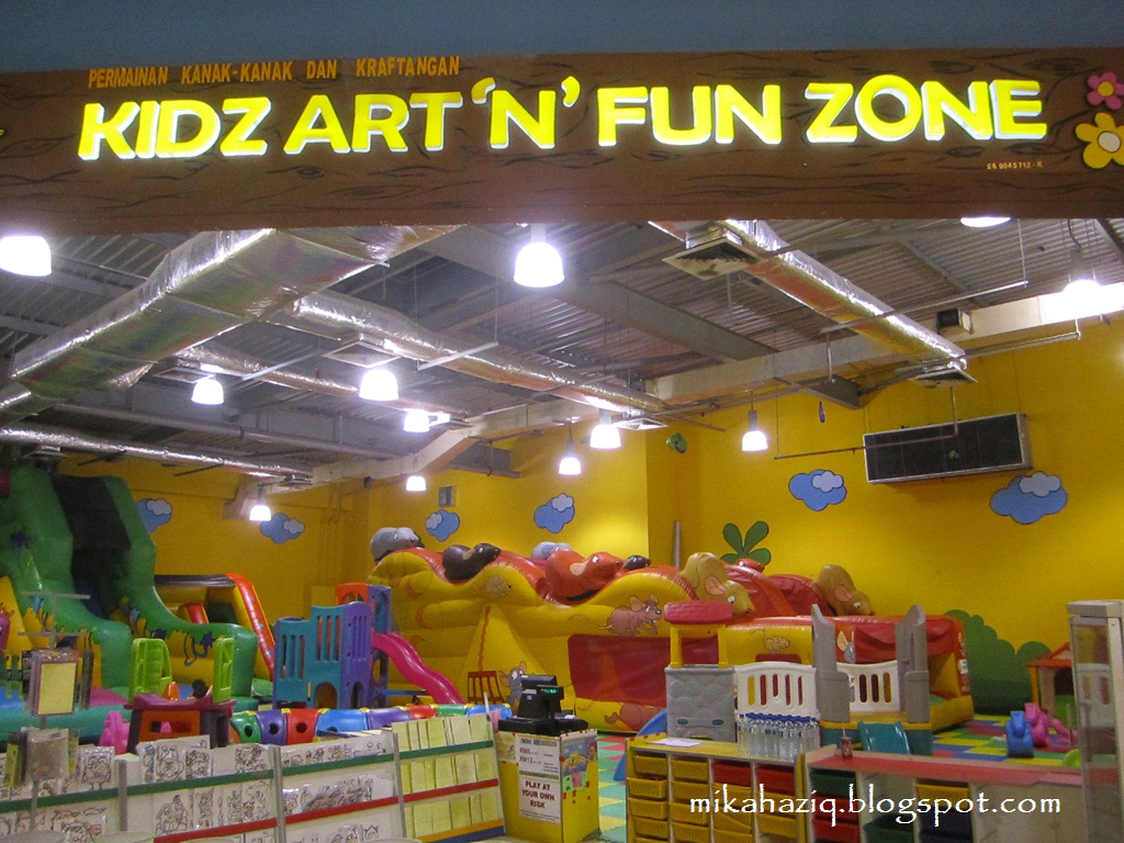 Indoor playground for kids at ikano power centre