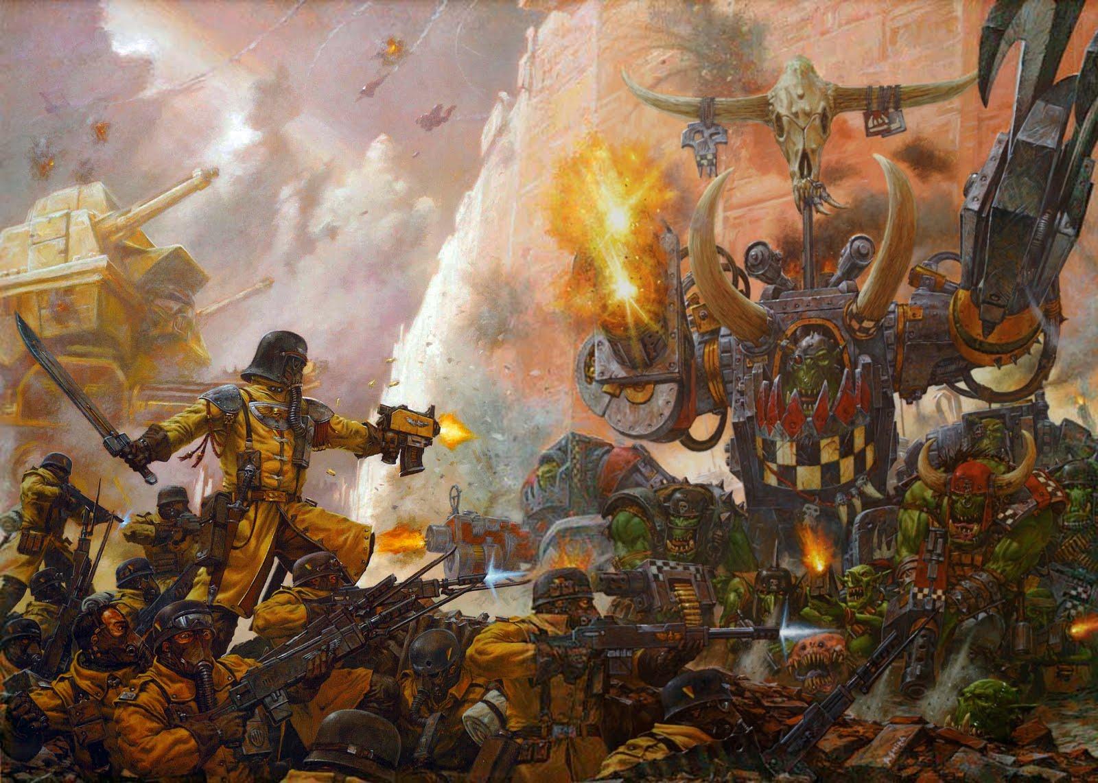 Astra Militarum.... A Steel Legion Release