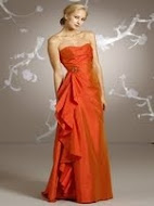 Visit Our Gallery - Orange Bridesmaid Dresses