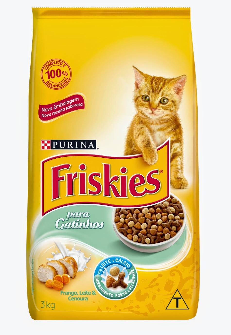 Ração pra gato Friskies