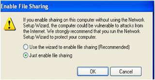 Gambar Enable File Sharing