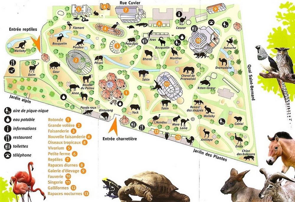 Coins du monde france paris la m nagerie du jardin for Jardin animaux paris