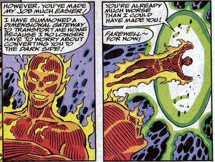 Fantastic Four 368 doppelganger human torch