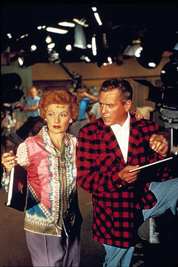 These Rare Color Photos From I Love Lucy In The 1950s