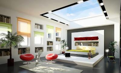 decoración dormitorio estilo moderno