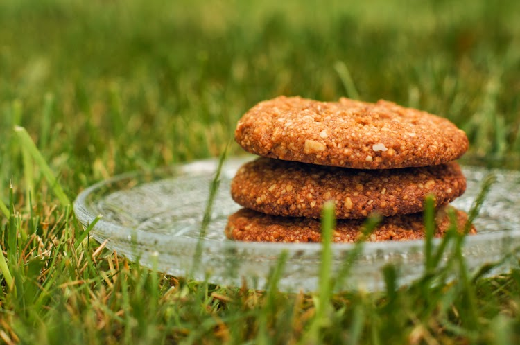 Ginger Cookies {Paleo} - Gluten, sugar, and dairy free