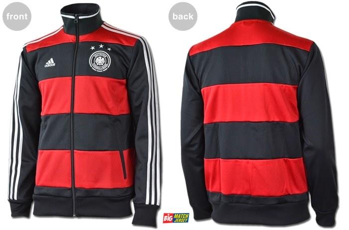 Update Terbaru Jaket Jerman Hitam Merah Atau Away 2014 Jaket Jerman Piala Dunia 2014