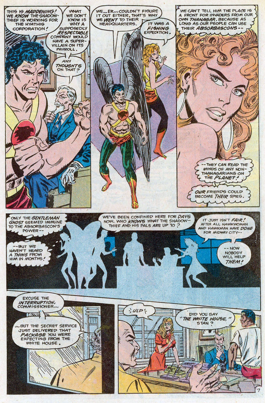 Hawkman (1986) Issue #3 #3 - English 10