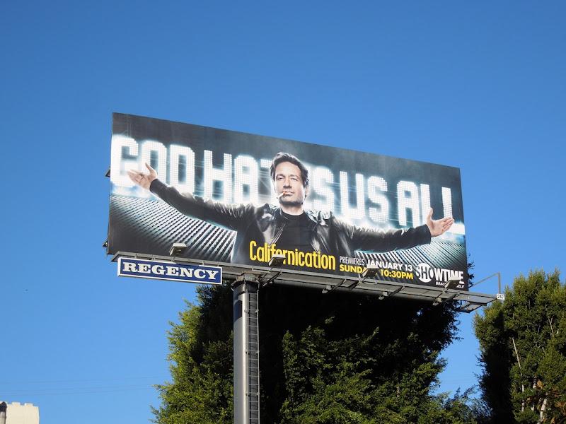 God hates us all Californication season 6 billboard
