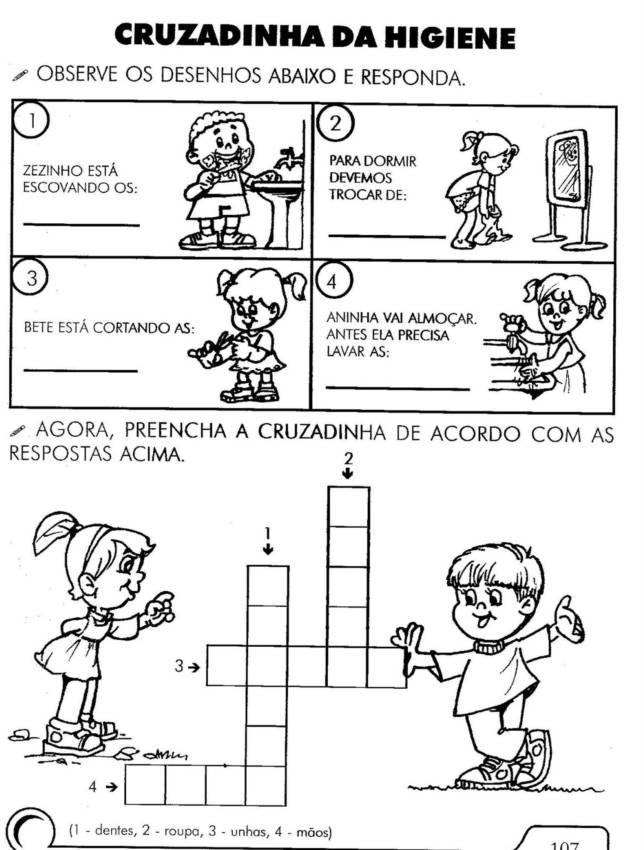 Super Pedagógiccos: Hábitos de higiene : atividades (parte 1) SC97