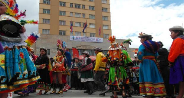 Entradas folklóricas de Bolivia