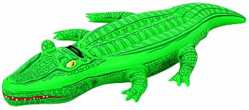 Inflatable Crocodile Rider