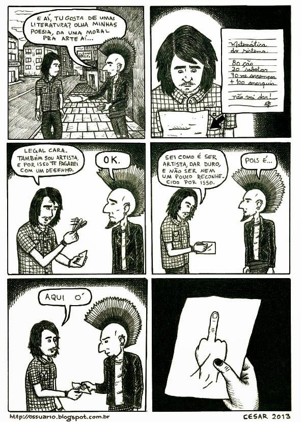 Punks, por Cesar Andrade