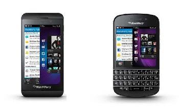 Update Harga Terbaru Blackberry Z10 dan Q10 2013