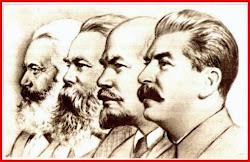 Engels,Marx,Lênin,Stálin