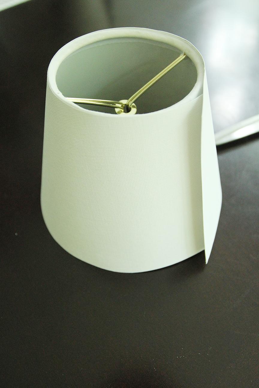 Diy Monogrammed Lamp Shade Less Than Perfect Life Of