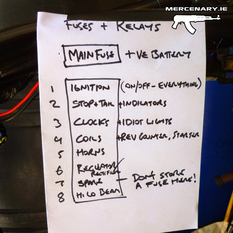 gpz 1100 fuse box gpz automotive wiring diagrams 100 mercenary garage dublin custom motorcycle wiring gpz