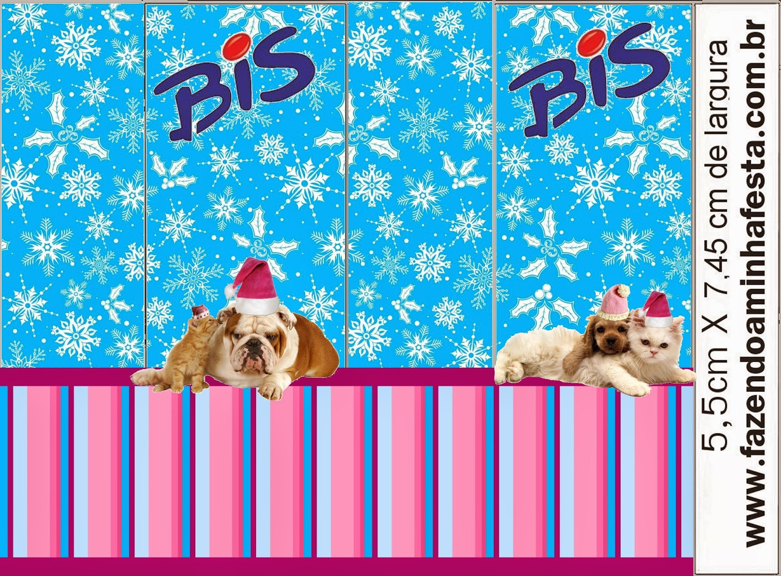 dog and cat in christmas free printable candy bar labels is it