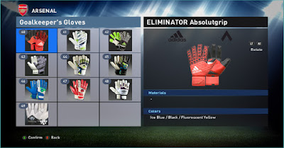 PES 2016 49 Goalkeeper Gloves Pack by killer1896