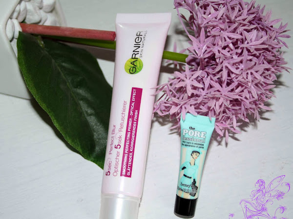 BATTLE: Garnier 5 sec Blur vs. Benefit POREfessional