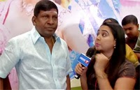 Vadivelu sings a song from his upcoming movie 'Eli'