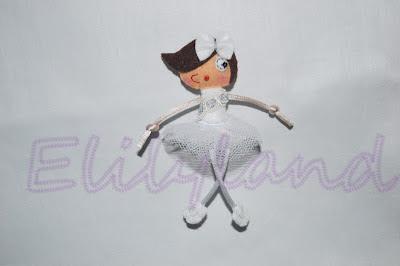 Mini-Elily Bailarina Fieltro Broche