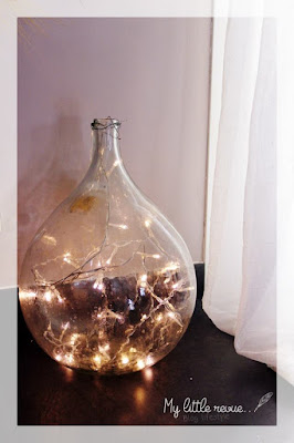 DIY globe lumineux