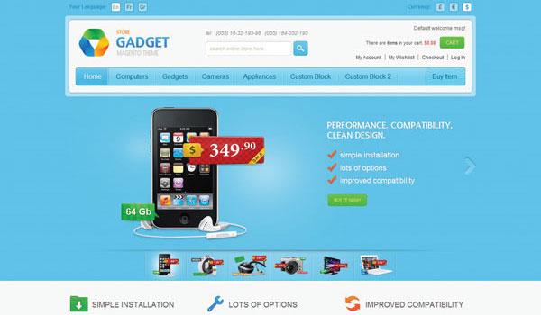 Gadget Magento Theme