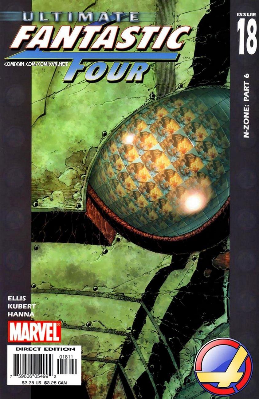 Ultimate Fantastic Four chap 18 - Trang 1