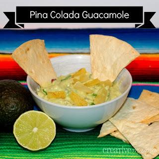 Creamy Pina Colada Guacamole Recipe