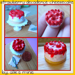 Strawberry Decadence Cheesecake