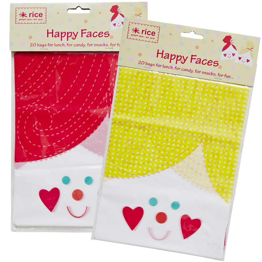 GOODIES - Happy Face Bags