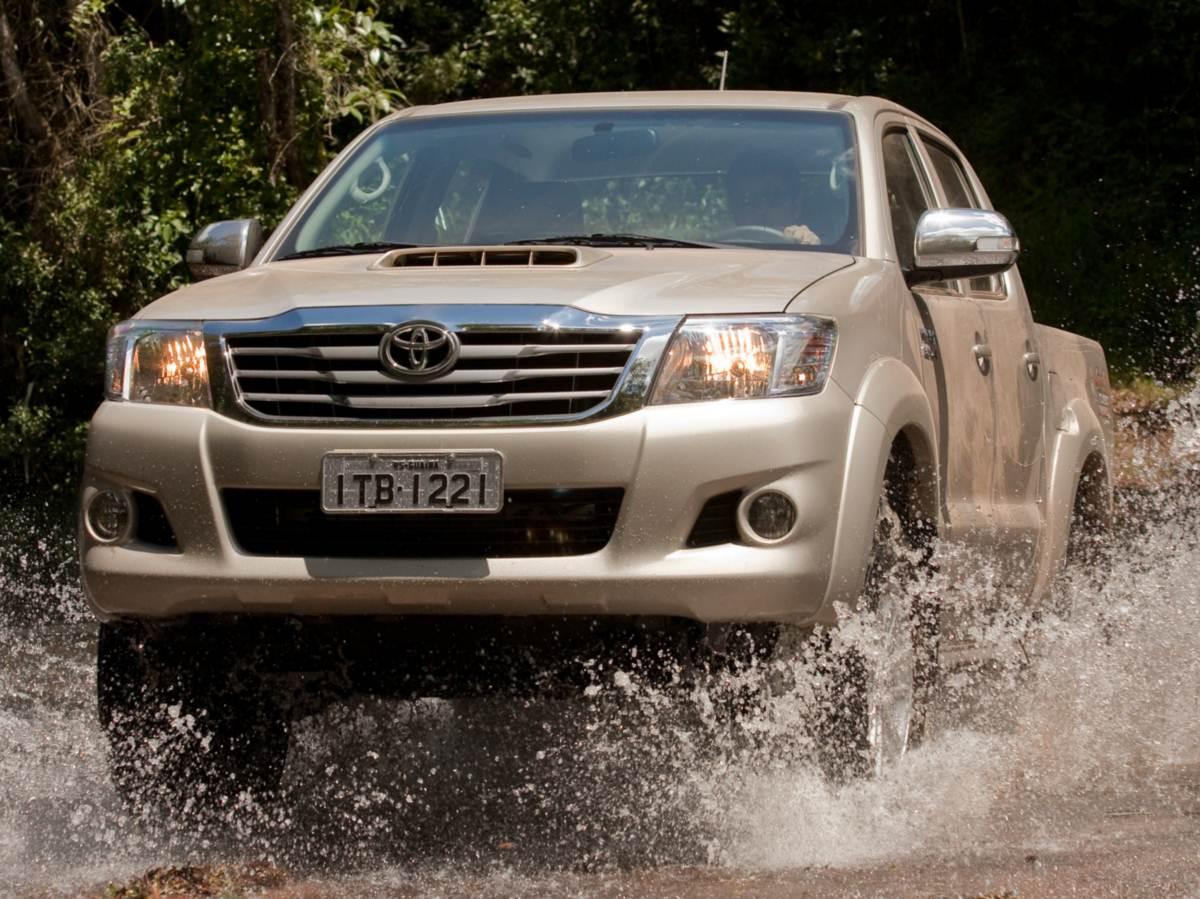 de maio, em Ribeirão Preto (SP), uma nova versão da pick-up Hilux
