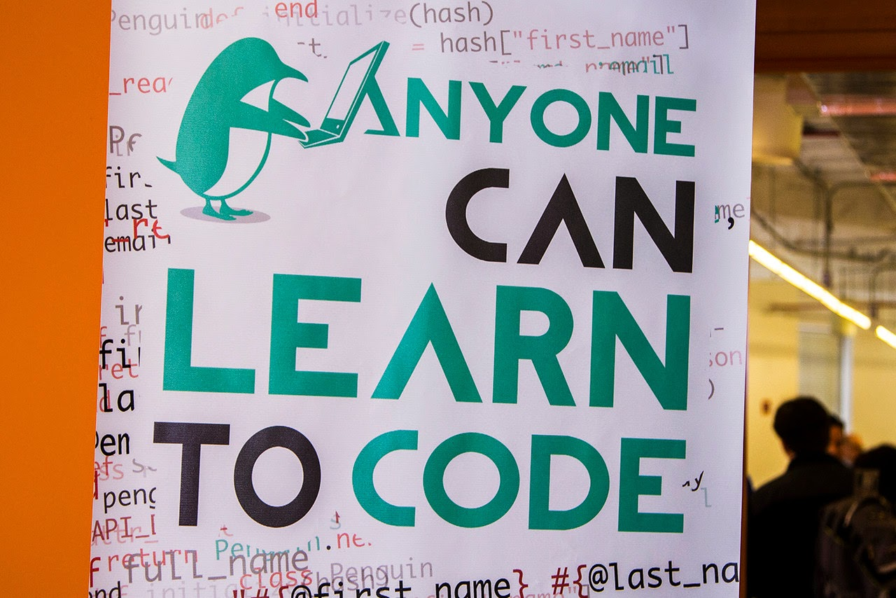 ANYBODY CAN LEARN — Hour of Code shirts and more