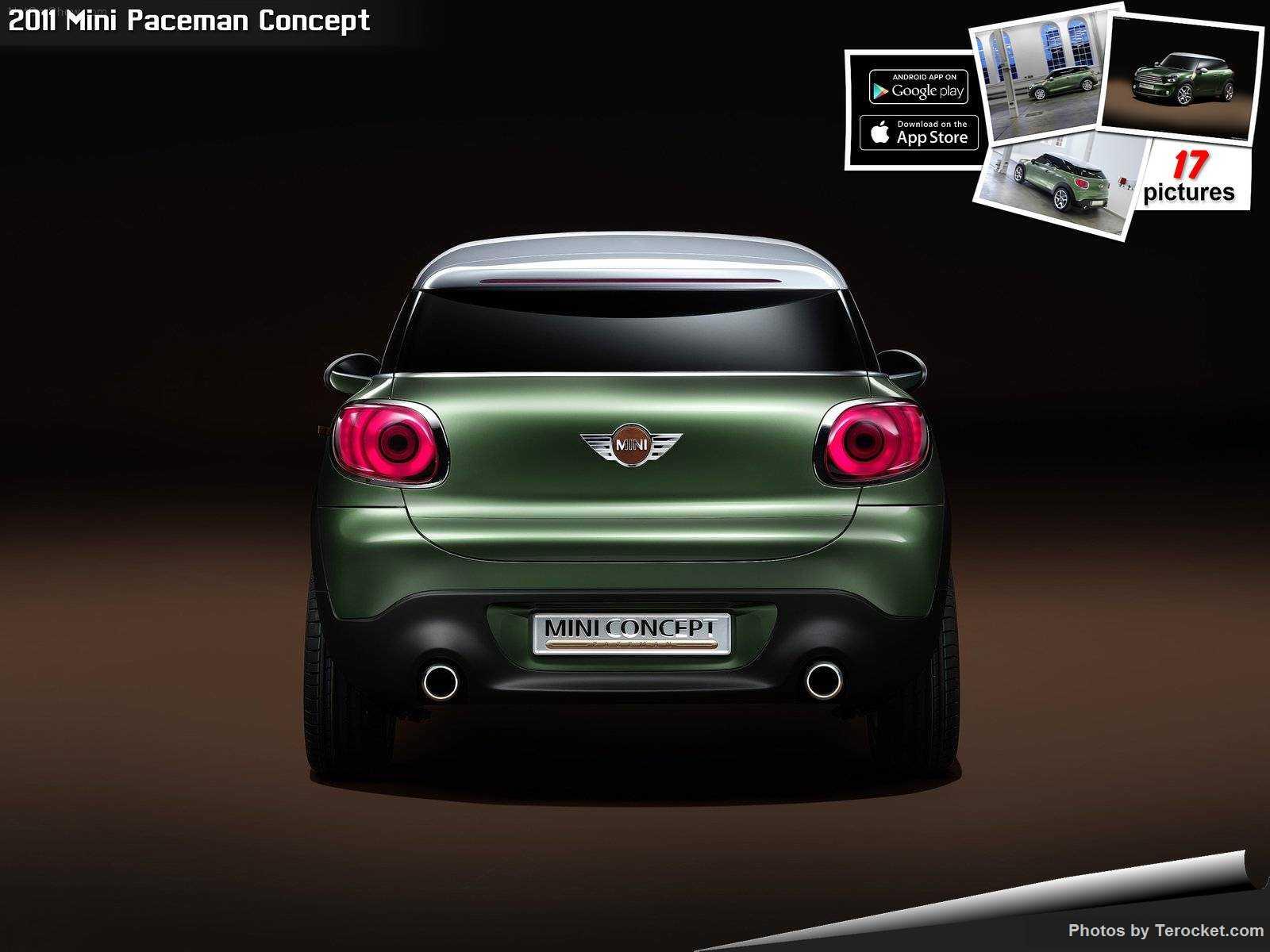 Hình ảnh xe ô tô Mini Paceman Concept 2011 & nội ngoại thất