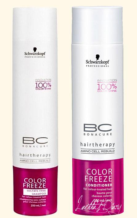 le shampoing sans sulfate color freeze est spcialement conu pour laver les cheveux colors tout en prservant les nuances et reflets ce shampoing est - Shampoing Schwarzkopf Cheveux Colors