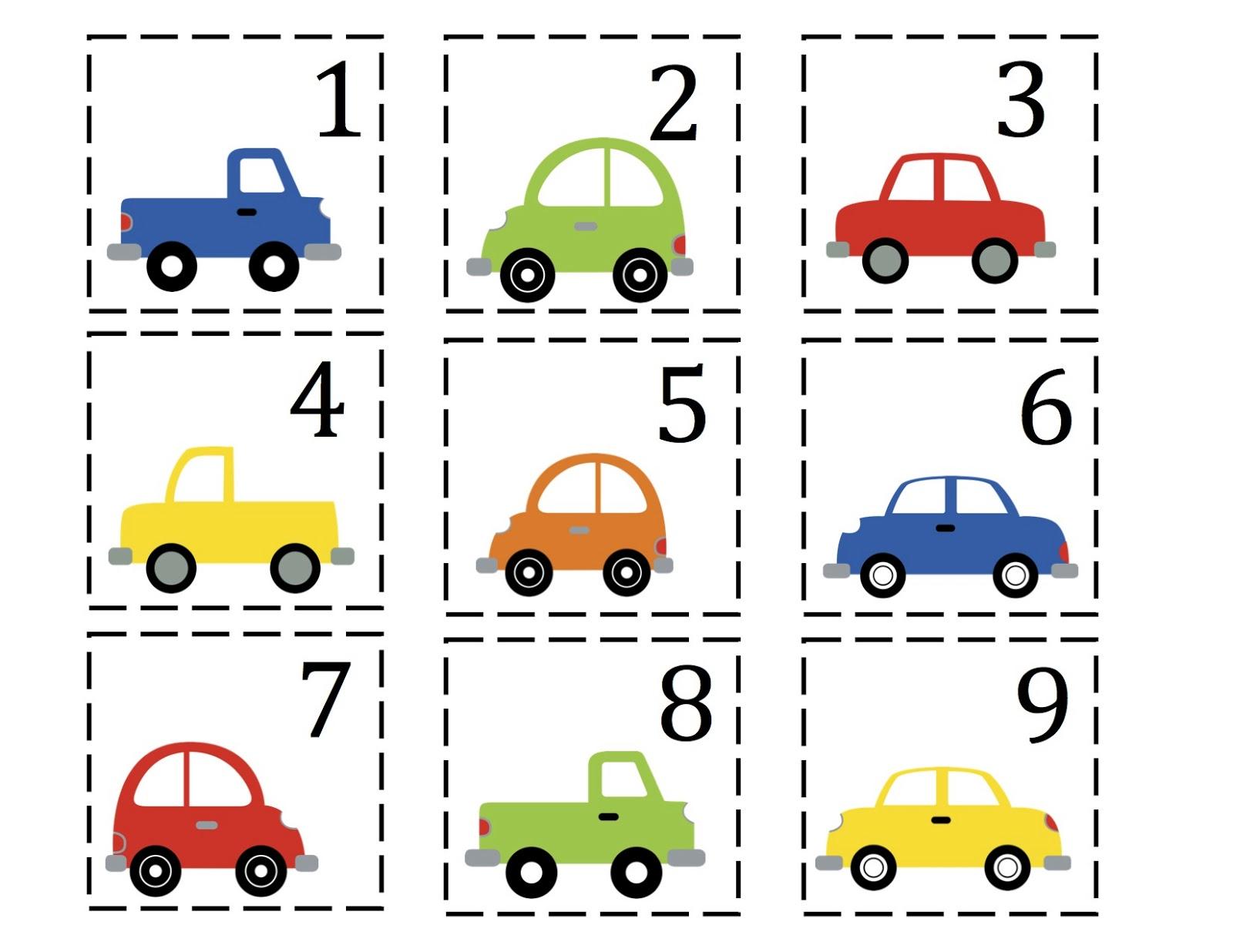 Number cards 1-50 (good for pocket charts)